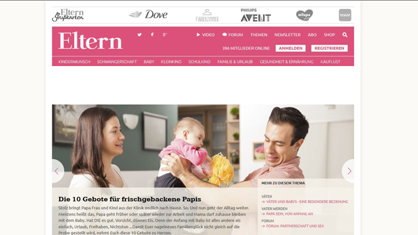 www.eltern.de